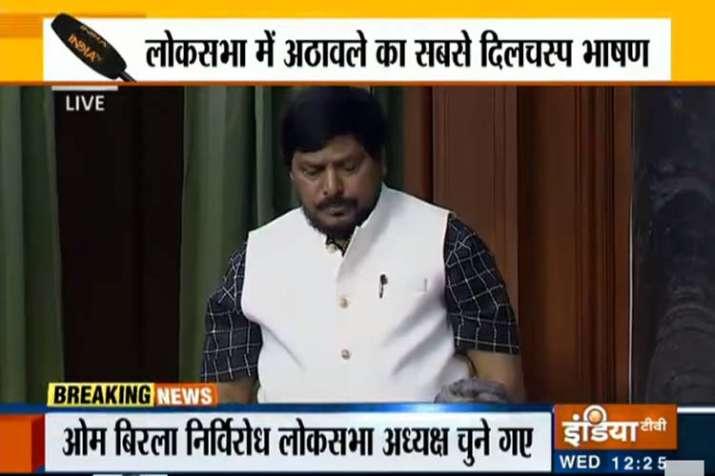 Ramdas Athawale- India TV