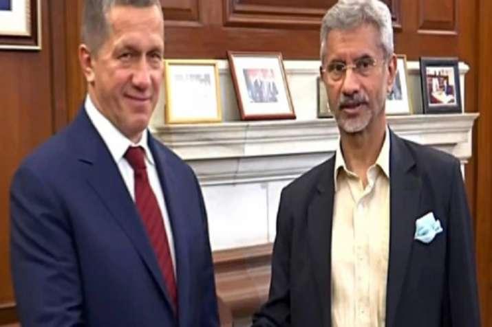 Jaishankar meet with Russian deputy PM- India TV
