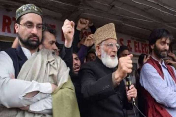 Kashmiri separatist leaders received funds from abroad,...- India TV Hindi