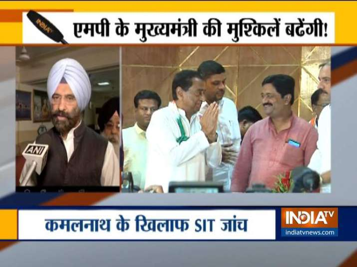 SIT  to initiate enquiry against Kamalnath in 1984 Sikh Riots Case- India TV