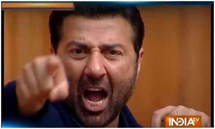 Sunny Deol in aap ki adalat- India TV