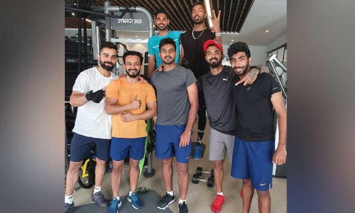 World Cup 2019: होटलों में सुविधा नहीं, प्राइवेट जिम में वर्कआउट कर रहे भारतीय खिलाड़ी - India TV