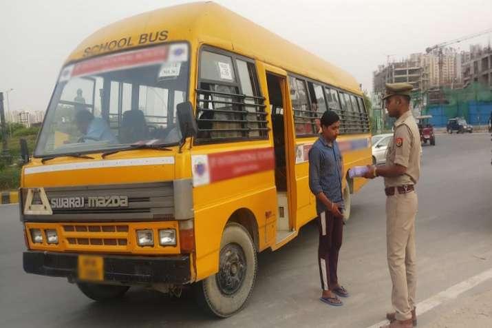 school bus- India TV