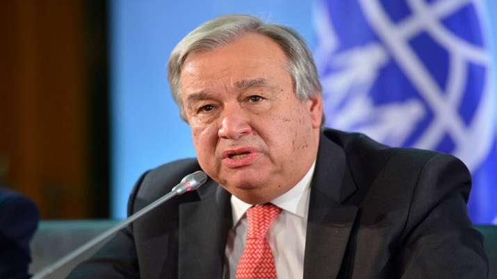Antonio Guterres- India TV