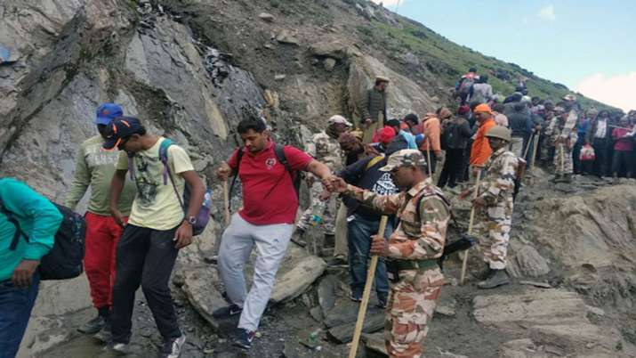 4 Amarnath pilgrims die, death toll in this year's yatra reaches 30- India TV