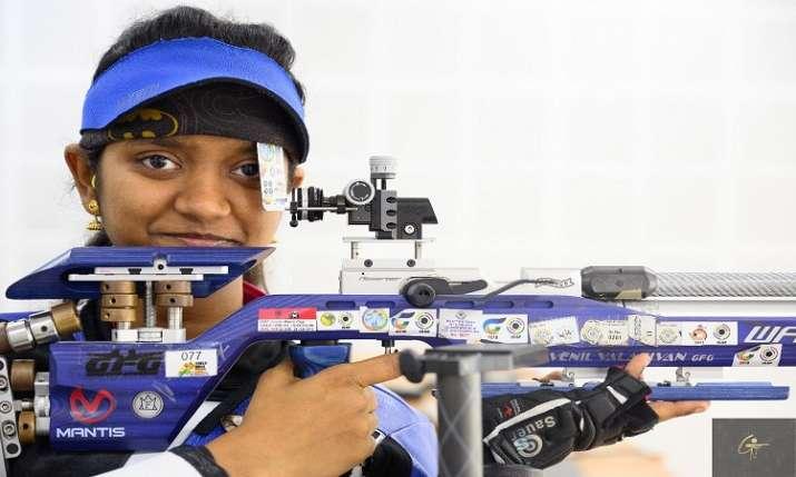 भारतीय शूटर इलावेनिल...- India TV