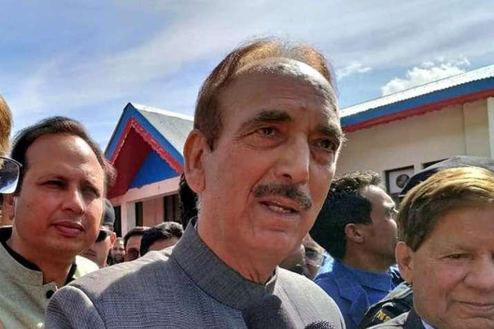 Ghulam Nabi Azad takes dig at PM Narendra Modi over Karnataka crisis | PTI File- India TV