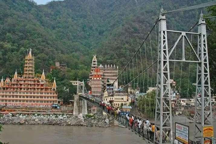 Laxman jhula bridge in rishikesh closed for public- India TV