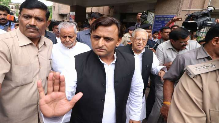 Former Chief Minister of Uttar Pradesh Akhilesh Yadav- India TV