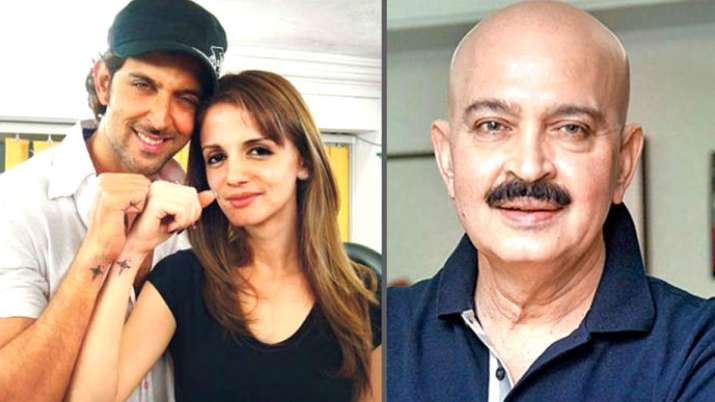 Hrithik Roshan, Sussanne Khan and Rakesh Roshan- India TV