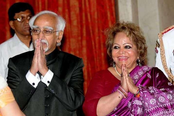 hamid ansari and salma ansari- India TV