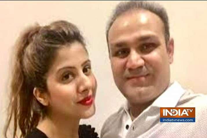 Virender Sehwag's wife Aarti Sehwag lodged FIR against...- India TV