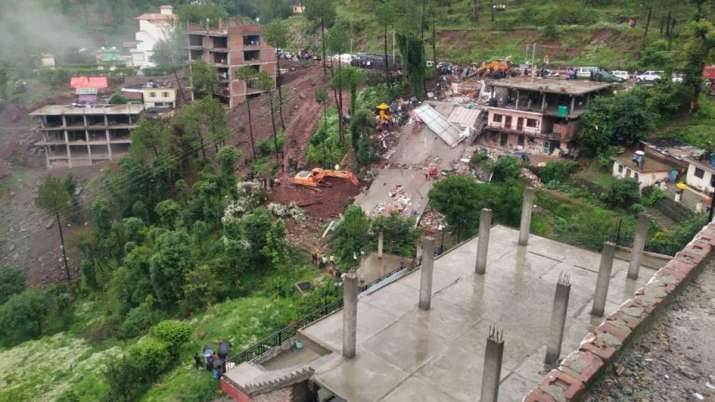 Building collapses in- India TV
