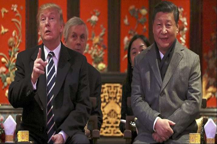 US President Donald Trump and Chinese President Xi Jinping- India TV