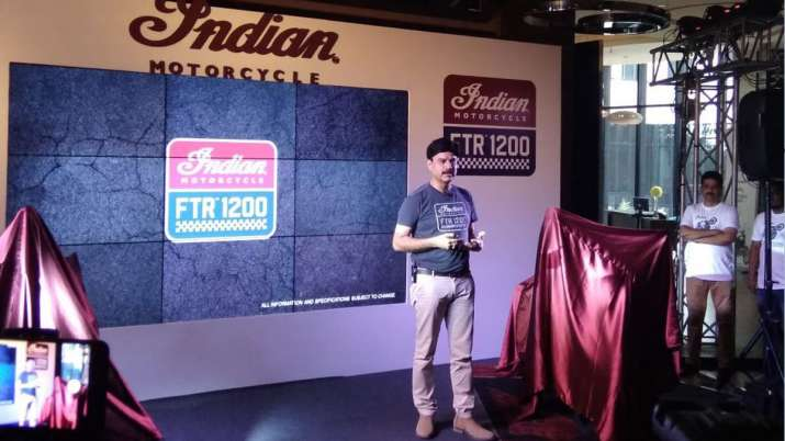 Indian Motorcycle drives in new FTR 1200 S into India