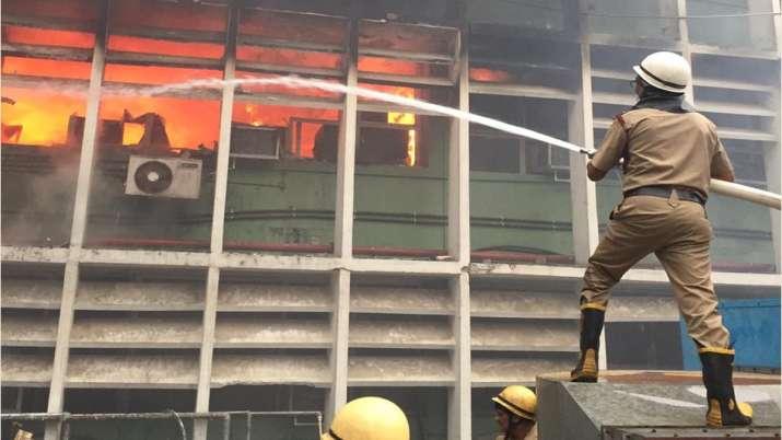 Delhi AIIMS Fire- India TV Hindi
