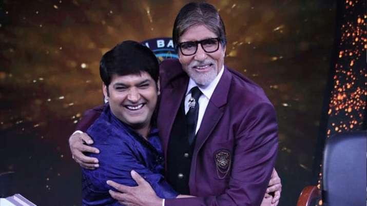 अमिताभ बच्चन व कपिल...- India TV