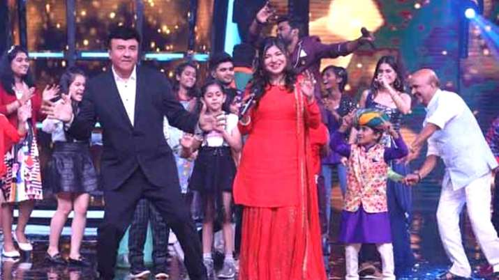 Anu Malik in Superstar Singer show- India TV