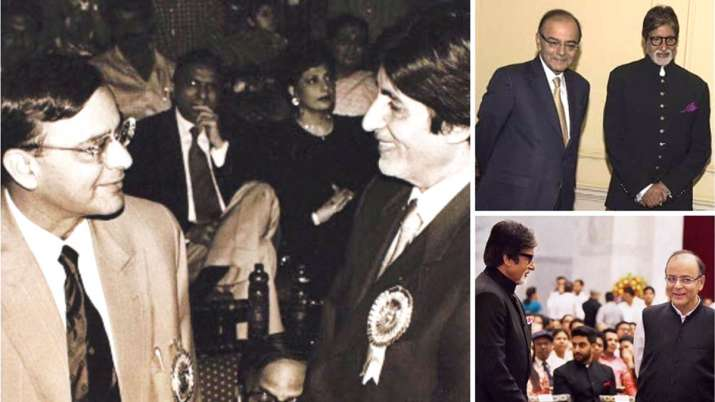 Amitabh Bachchan with Arun Jaitley- India TV Hindi
