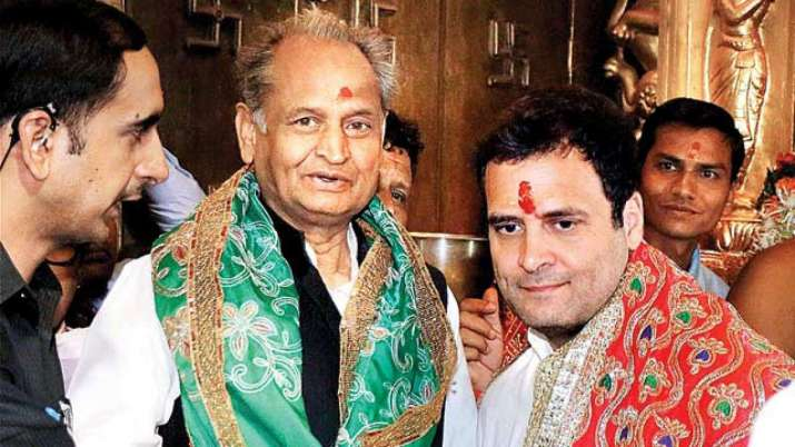 Ashok Gehlot rules himself out of race for Congress chief- India TV Hindi