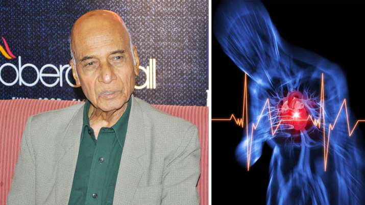 famous music composer khayyam dies after cardiac...- India TV