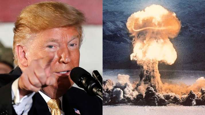 Donald Trump reportedly suggested nuking hurricanes to stop them from hitting US | AP/Public Domain- India TV Hindi