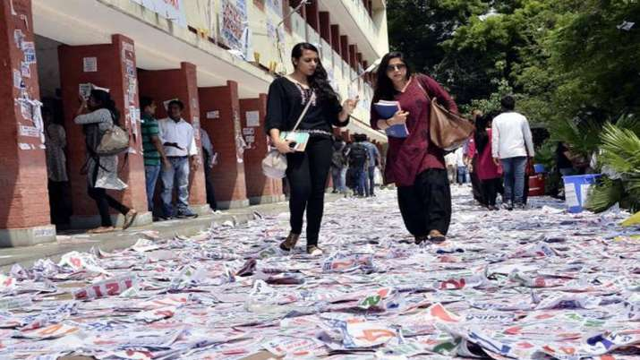 DUSU Elections 2019 dates declared- India TV Hindi