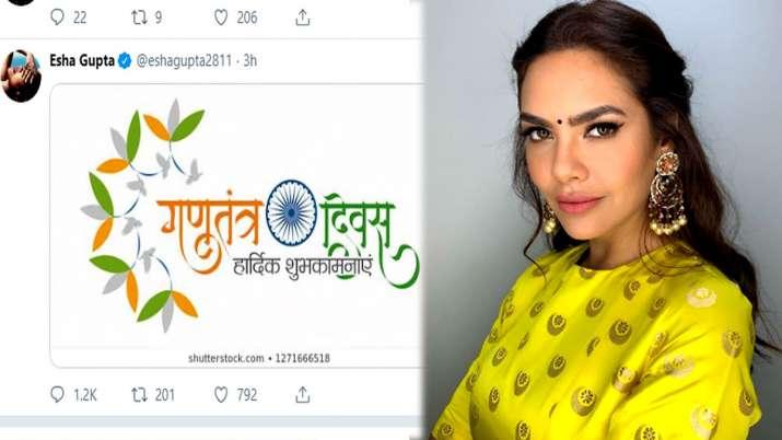 Actress Esha Gupta- India TV Hindi