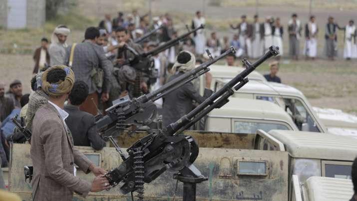 Yemen war: Houthi missile attack on military parade kills several people   AP File- India TV