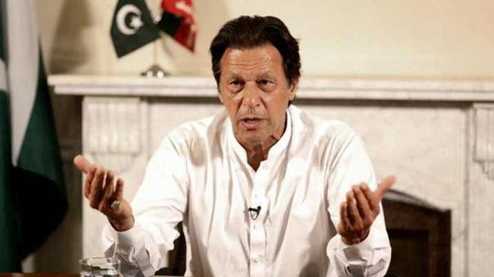 Imran Khan says India creating 'war-like' situation, MEA calls it a ploy   AP File- India TV