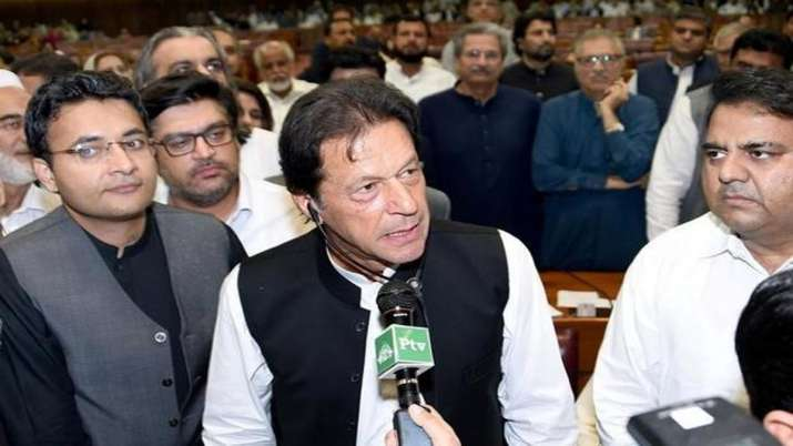Imran Khans' statement on nuclear weapons- India TV
