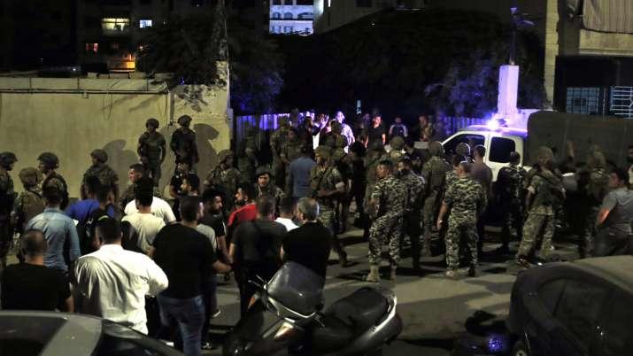 Israeli drone explodes, another crashes, south of Beirut, says Lebanese Army - India TV Hindi