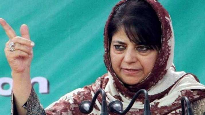 Any step towards modulating 35A and 370 could be very dangerous, says Mehbooba Mufti | PTI File- India TV Hindi