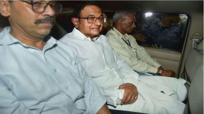 New Delhi: Central Bureau of Investigation (CBI) officials arrest Congress leader P Chidambaram from- India TV