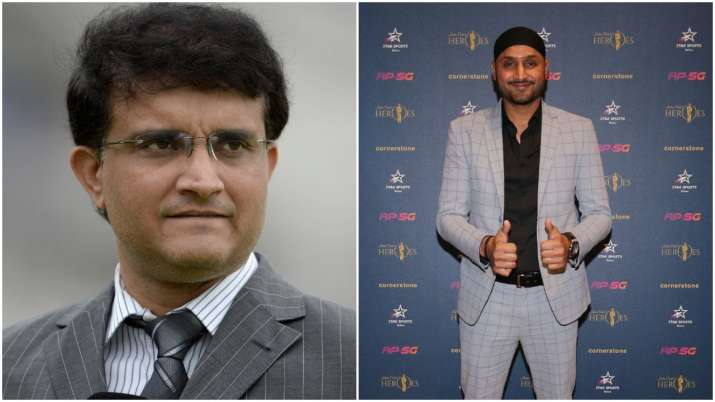 Sourav Ganguly and Harbhajan Singh- India TV