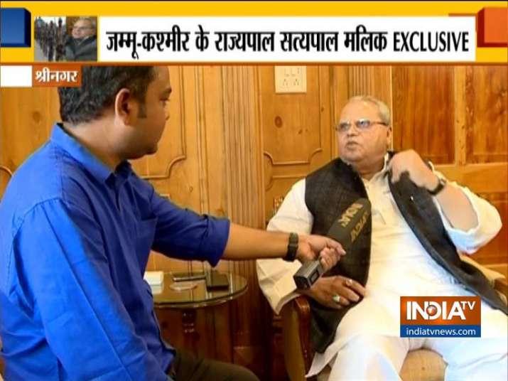 Satyapal Malik- India TV