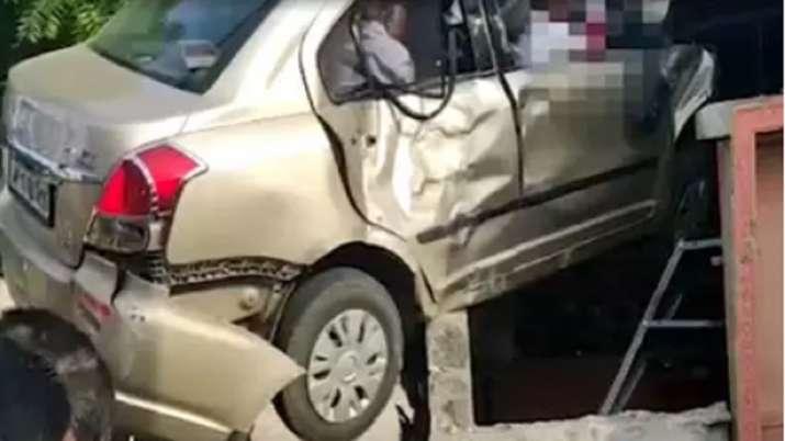 Car accident- India TV