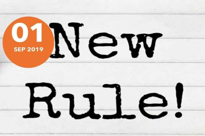 many rules change from 1st September 2019- India TV Paisa