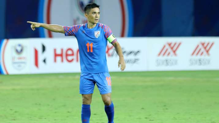 Sunil Chettri, Captain Indian Football Team- India TV