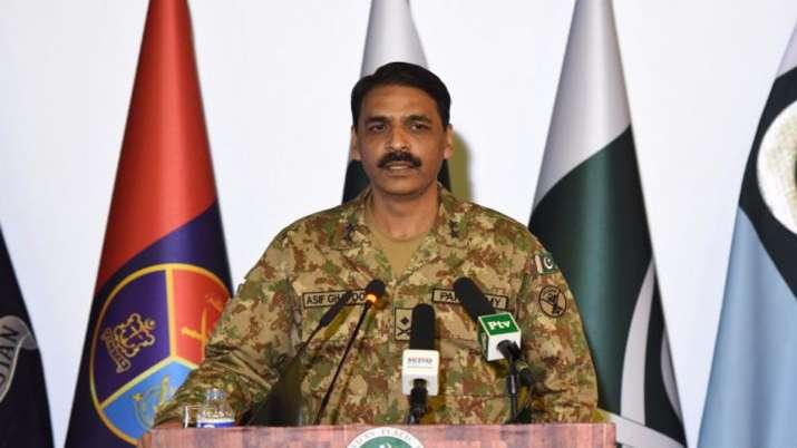 Maj Gen Asif Ghafoor, Pakistan- India TV Hindi