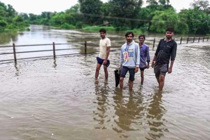 heavy monsoon rain in madhya pradesh- India TV