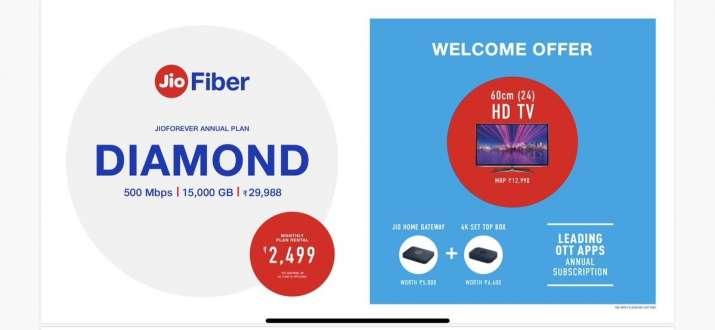 Reliance jio fiber all plan list- India TV Paisa