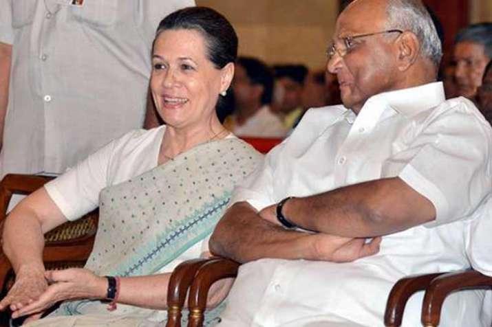 Sonia Gandhi and Sharad Pawar- India TV