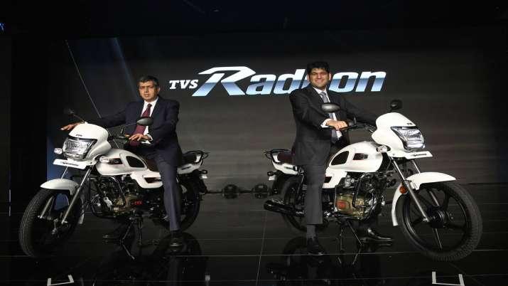 TVS Motor launches TVS Radeon special edition- India TV Paisa