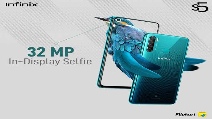 Infinix S5 With Quad Rear Camera Setup, 4,000mAh Battery Launched in India at Rs8,999