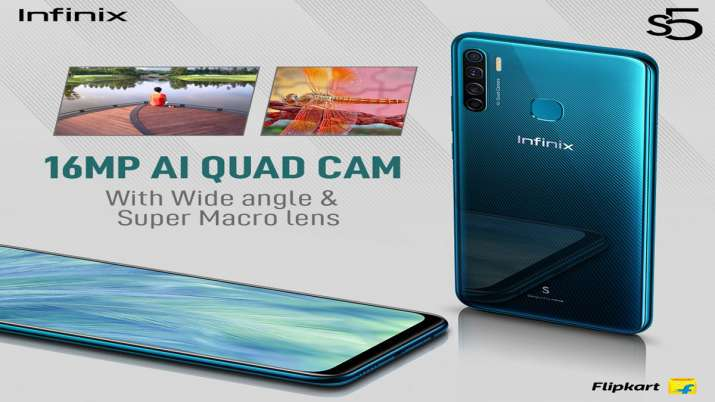 Infinix S5 with Quad Rear camera setup, 4,000mAh battery launched in India at Rs 8,999