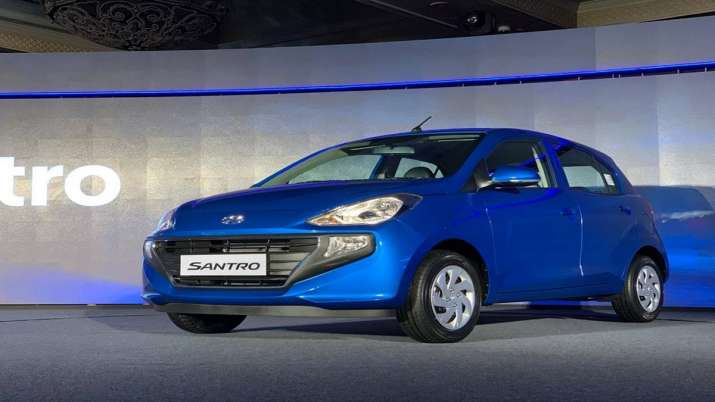 Hyundai launches anniversary edition of Santro priced up to Rs 5.75 lakh- India TV Paisa