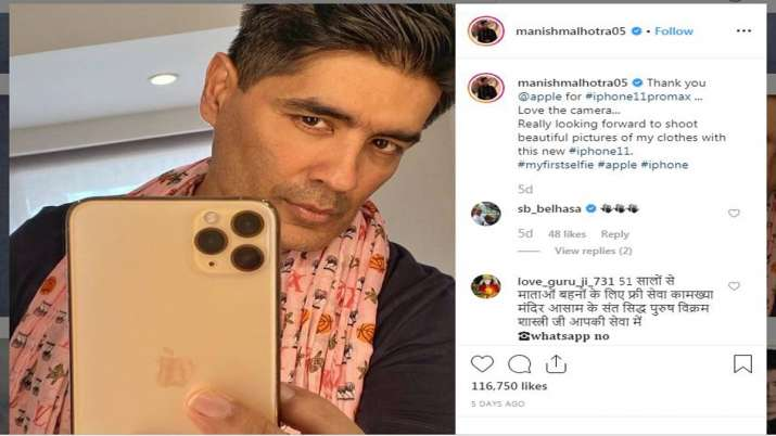 iPhone 11 Pro Max grips Indian celebrities, Insta on fire- India TV Paisa