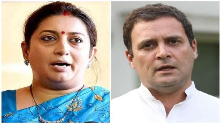 Smriti Irani say Rahul Gandhi become problem for his own Organisation- India TV