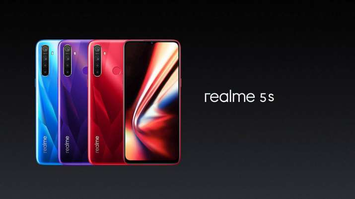 Realme launched cheaper Realme 5s with 48MP quad camera and 5,000mAh battery- India TV Paisa